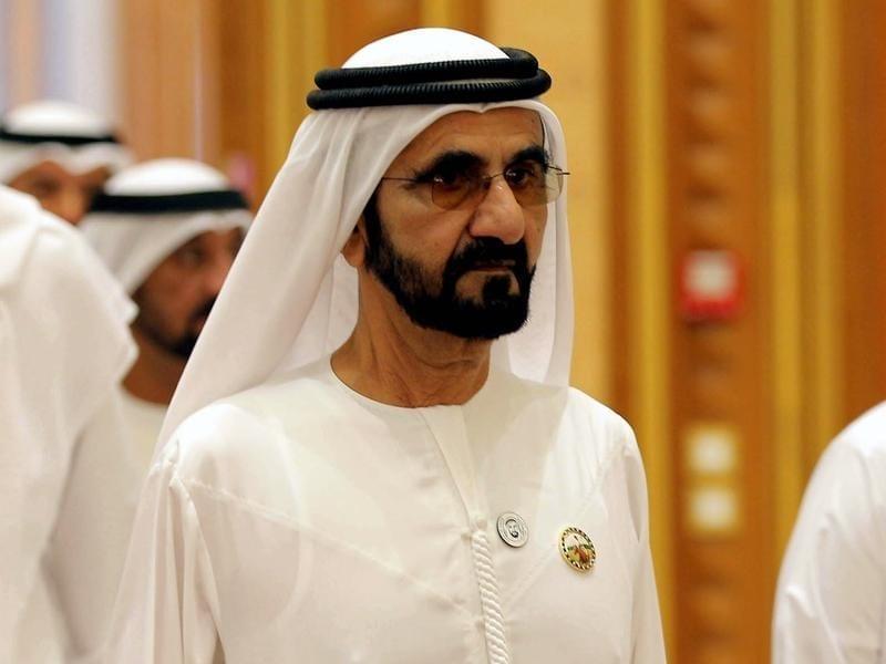 Dubai ruler ruler Sheikh Mohammed