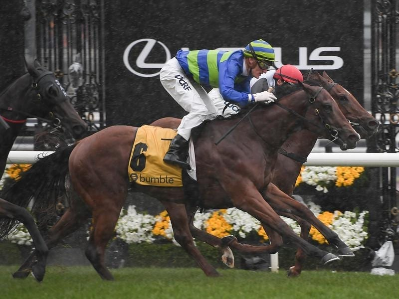 Bella Rosa wins at Flemington.
