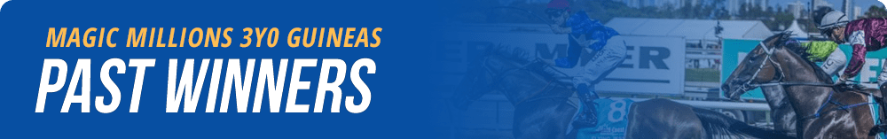 Magic Millions 3YO Guineas past winners list