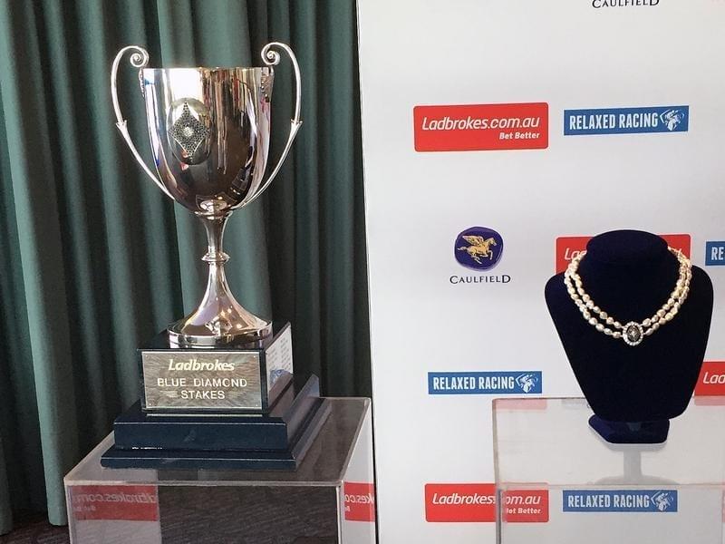 blue diamond trophies