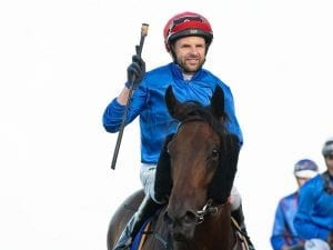 Larry Cassidy rides for Godolphin again