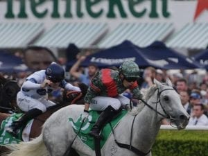 White Moss red-hot in G2 Sapphire Stakes