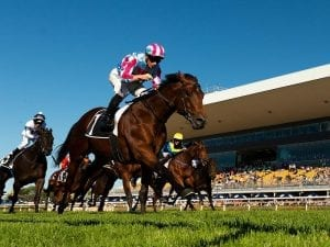 McDonald's champagne ride in Group 2 Classic