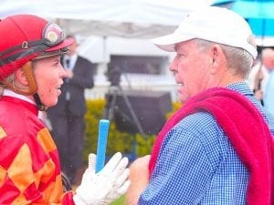 Apprentice Thompson escapes serious injury