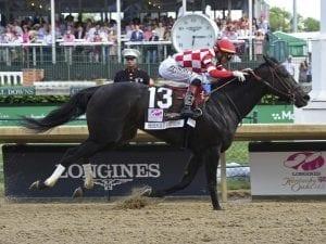 Serengeti Empress wins Kentucky Oaks