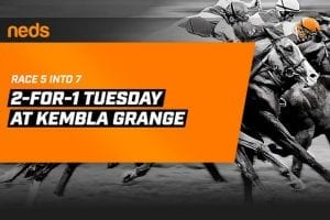 Neds Tuesday Racing Promo