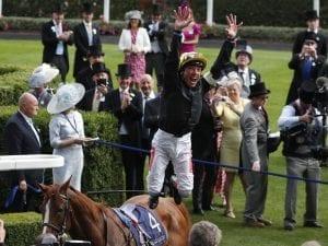 Dettori rides four winners at Royal Ascot