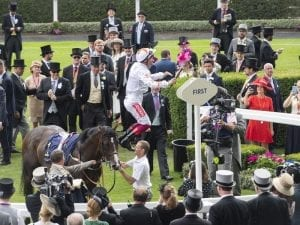 Dettori wins Commonwealth Cup on Advertise