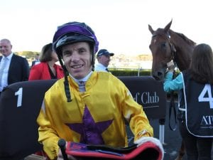 Tim Clark happy to be on the pace