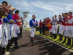 No luck for Lloyd on last day of riding