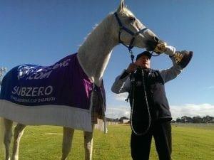 Cup winner Subzero in fight for his life