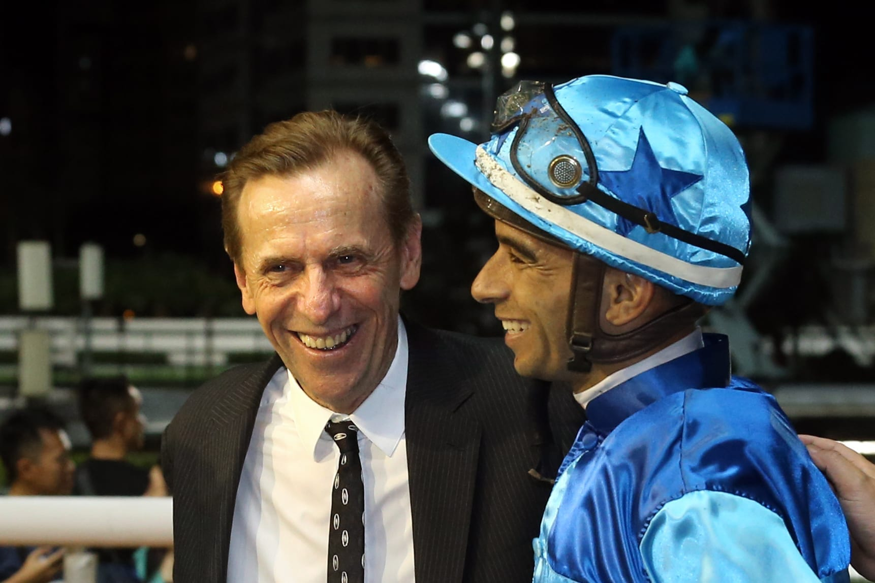John Size and Joao Moreira