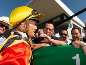 Browne off to good start as jockey manager