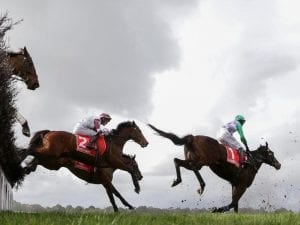 Wells claims thrilling Crisp Steeplechase
