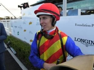 Lane rides winner on return to Aust racing
