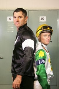 Stephen Donald with Matt Cameron