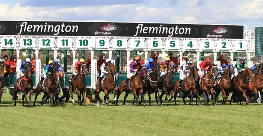 Barriers at Flemington