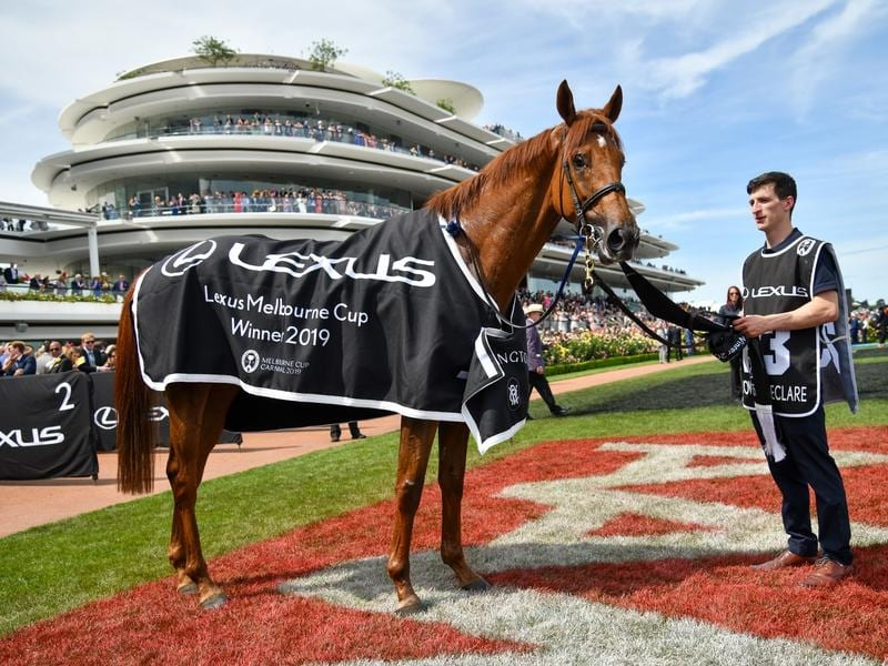 Melbourne Cup winner Vow And Declare.
