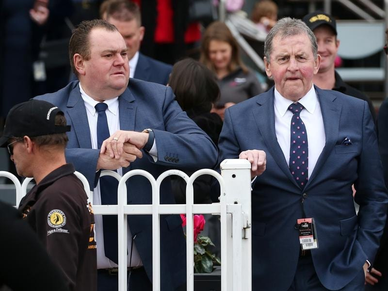 Former Carlton coach turned horse trainer Denis Pagan