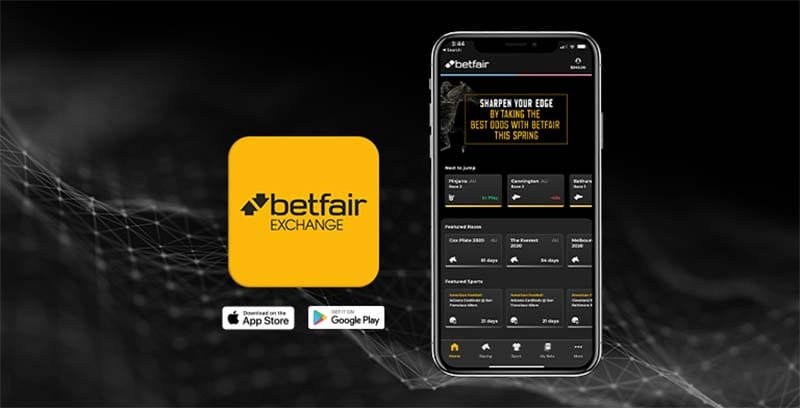 Betfair app downloads Australia
