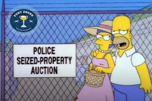 The Simpsons - Police Auction