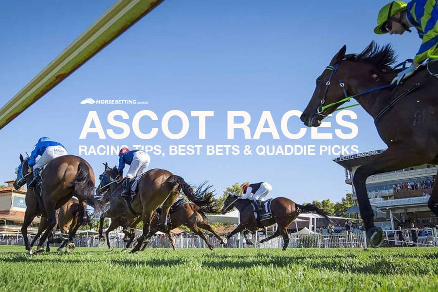 Ascot horseracing tips, recommended bets & quaddie picks