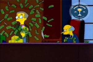 Mr Burns & Smithers - The Simpsons