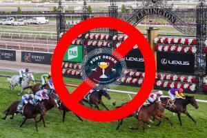 No racing in Victoria