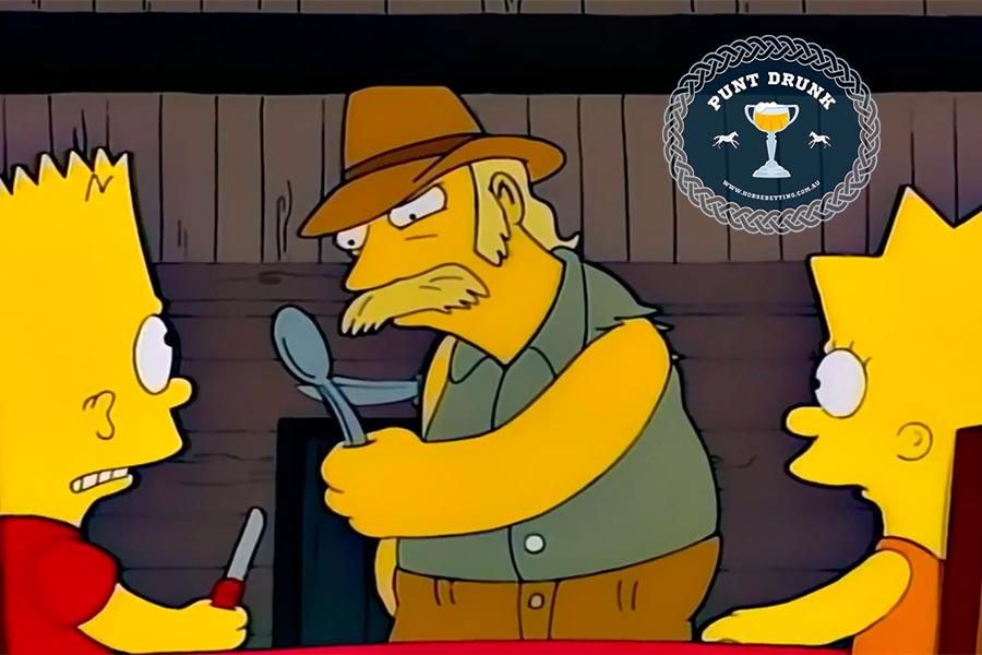 Knifey-spoony - The Simpsons