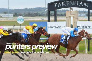 Pakenham tips, value bets & quaddie picks | Tuesday, August 17