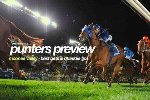 Moonee Valley racing tips & best odds | Friday, October 1