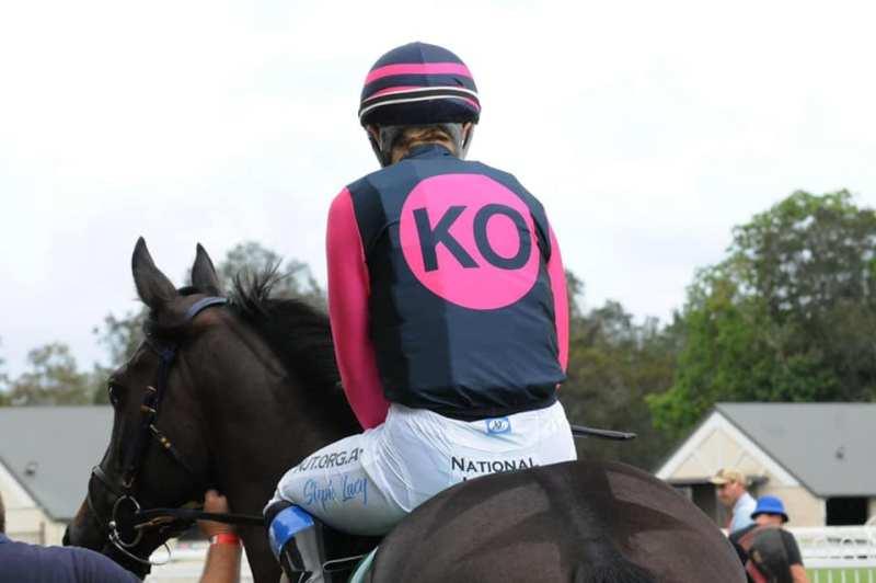 KO Racing colours
